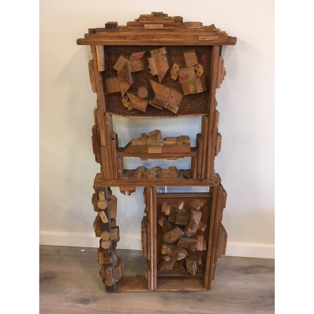 Wood Wood Sculpture by George J. Marinko For Sale - Image 7 of 7