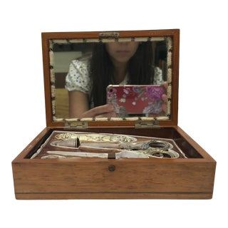 Late 19th Century Antique Sewing Kit - Set of 7 For Sale