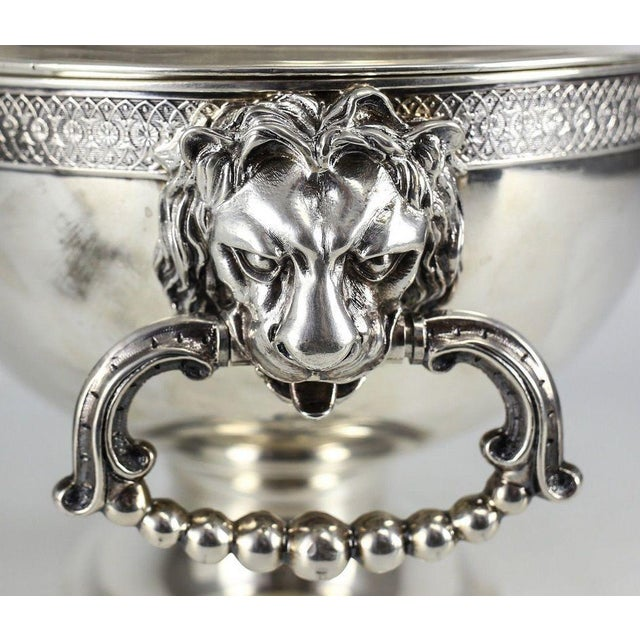 Art Nouveau 19th C. John C. Moore for Tiffany & Co. Sterling Silver Tureen For Sale - Image 3 of 6
