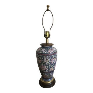 Frederick Cooper Hand Painted Table Lamp