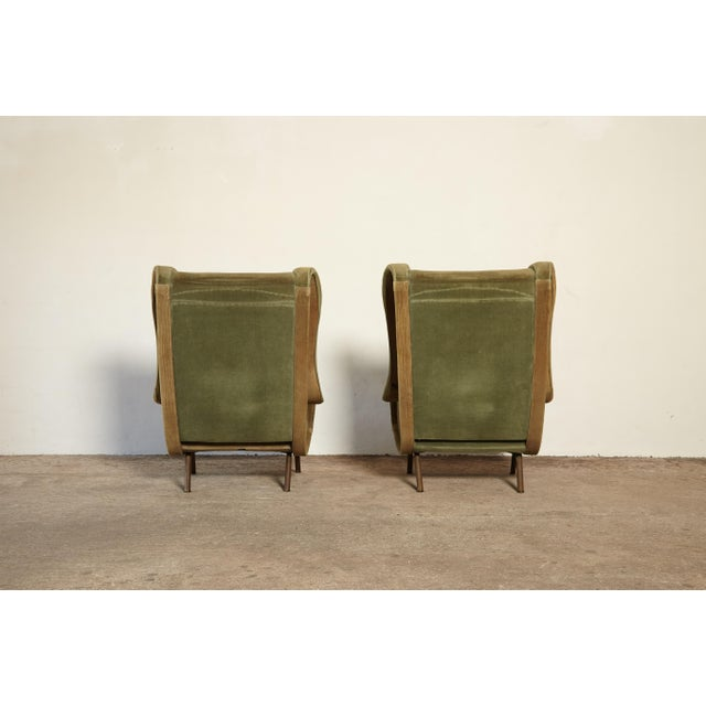 1960s Vintage Arflex Marco Zanuso Senior Chairs - a Pair For Sale In Philadelphia - Image 6 of 10