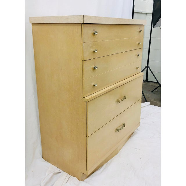 Vintage Mid Century Dresser Chest by Harmony House For Sale In Raleigh - Image 6 of 10