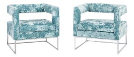 Image of Aqua Side Chairs