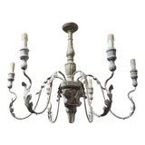 Image of Aidan Gray 6 Arm Charlemagne Chandelier For Sale