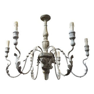 Aidan Gray 6 Arm Charlemagne Chandelier For Sale