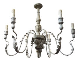 Image of Antique White Chandeliers