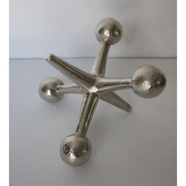 Mid-Century Silvertone Metal Jack - Image 2 of 3