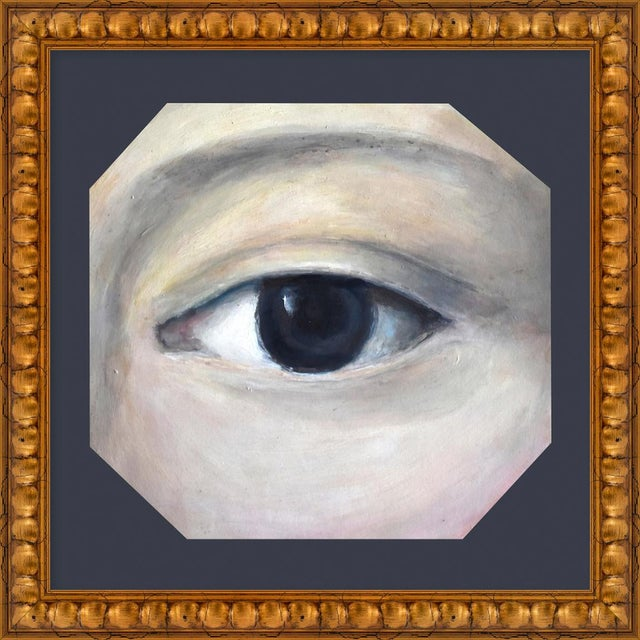 "Small ""Lover's Eye 6"" Print by Susannah Carson, 16"" X 16"" For Sale"