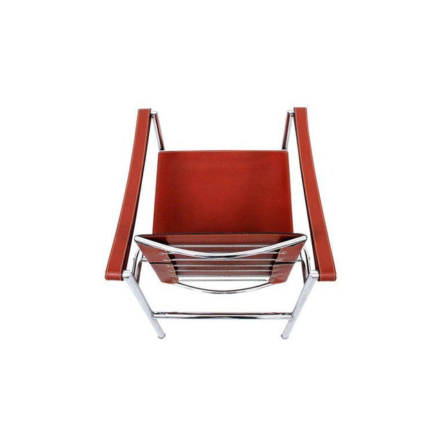 Metal Pair of Le Corbusier LC1 Lounge Chairs for Cassina For Sale - Image 7 of 12