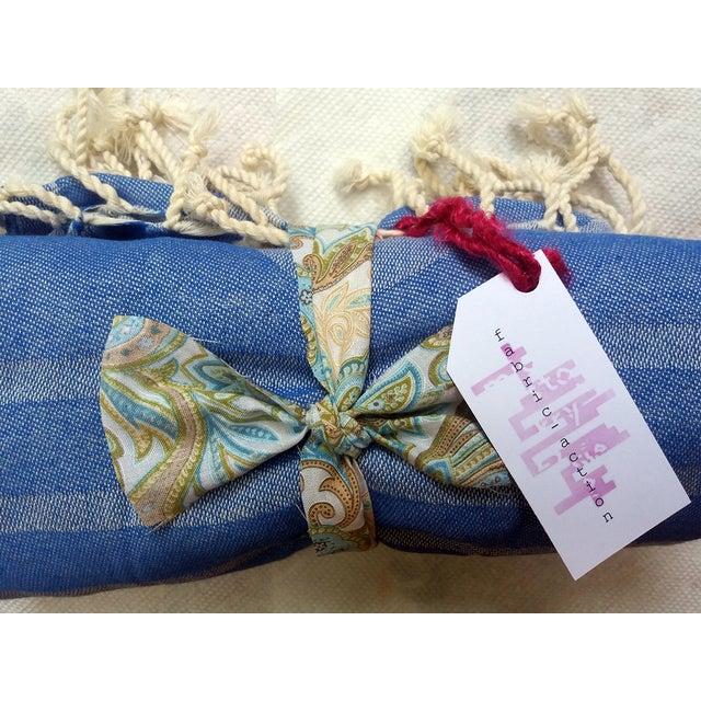 'Deco Squid' Towalla - 100% Linen Cotton - Image 5 of 5