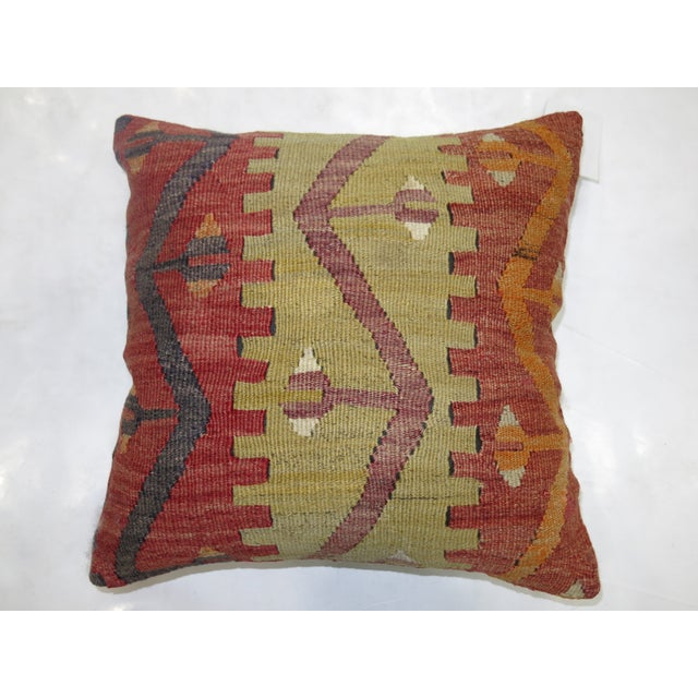 Turkish Kilim Pillow - Image 2 of 3