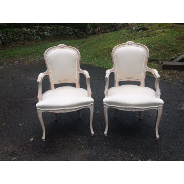 French Provincial Armchairs - A Pair - Image 2 of 6