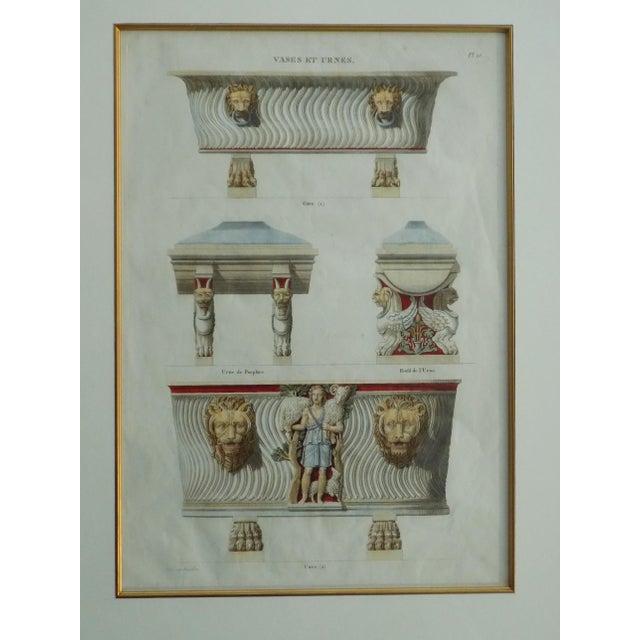Mid 18th Century Mid 18th Century Antique Bouillion Italian Vases Print For Sale - Image 5 of 10