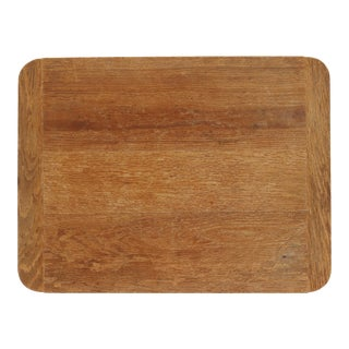 Vintage Oak Bread Board