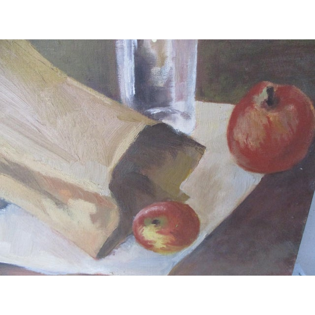 Modernist Still Life Painting - Image 8 of 8