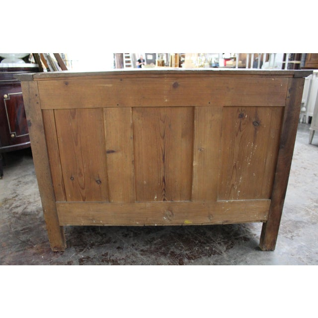 Brown 19th Century French Three Drawer Commode For Sale - Image 8 of 12