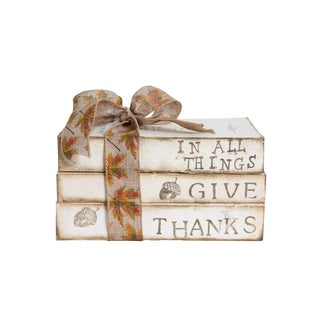 In All Things Give Thanks Gift Set, (S/3) For Sale