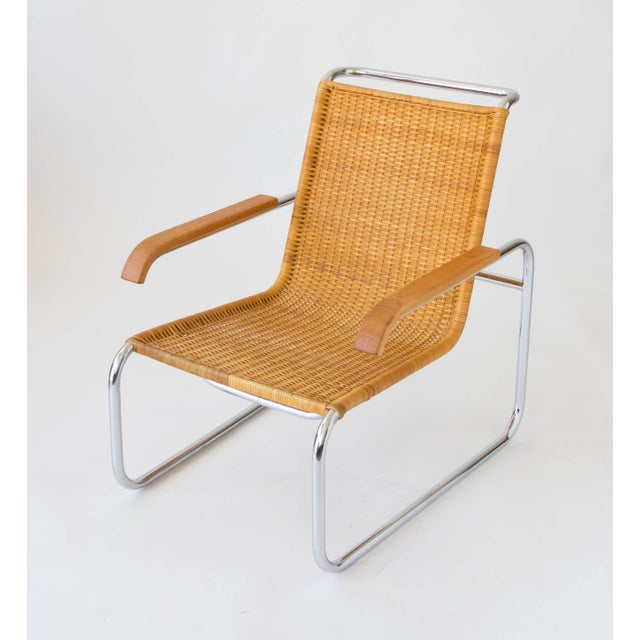 Marcel Breuer for Thonet B35 Rattan Lounge Chair - Image 2 of 7