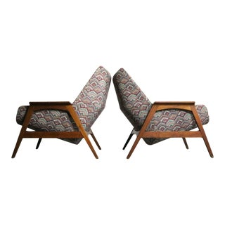 Foster McDavid Lounge Chairs - A Pair For Sale