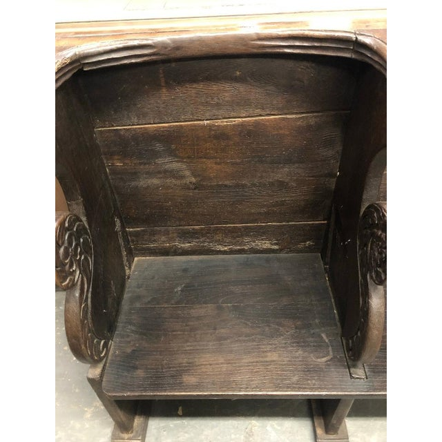 French 18th Century French Clergyman's Pew For Sale - Image 3 of 7