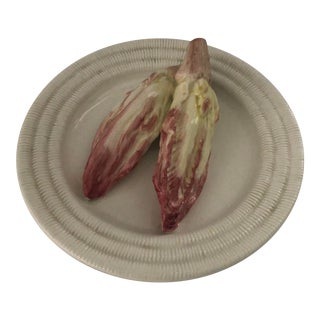 1990s Trompe L'oeil Plate for Tiffany For Sale