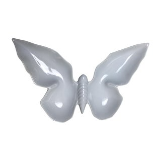 White Porcelain Butterfly Dish