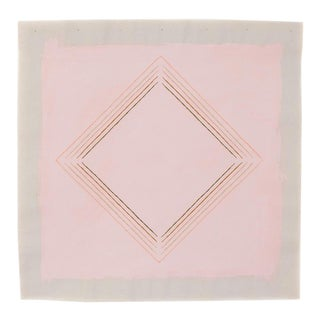 """Abstract Soft Pink Diamond 16"""" Fine Art Print by Emily Keating Snyder For Sale"""
