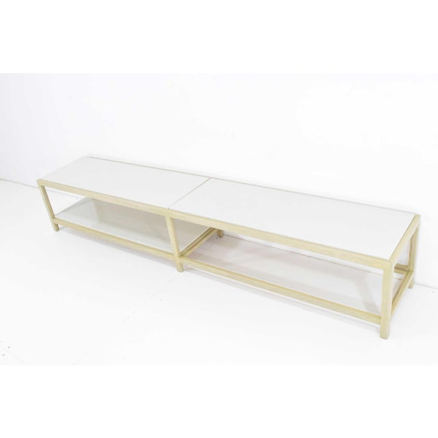 Dunbar Coffee Table or Bench in Light Ash For Sale - Image 9 of 11