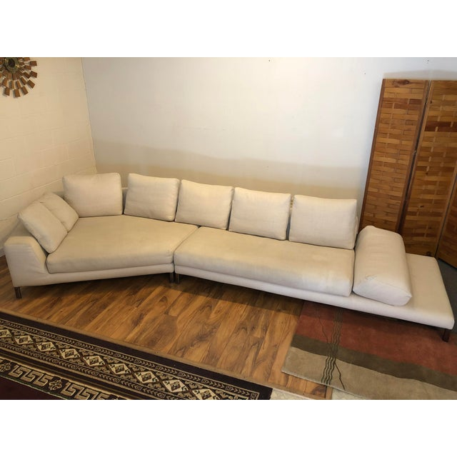 Minotti Hamilton Islands two piece sectional designed by Rodolfo Dordoni and made in Italy. We purchased it from the...