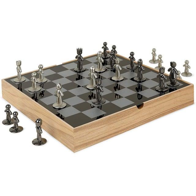 1950 S Handmade Mid Century Modern Minimalist Chess Set Portugal 1958 32 Pieces Chairish