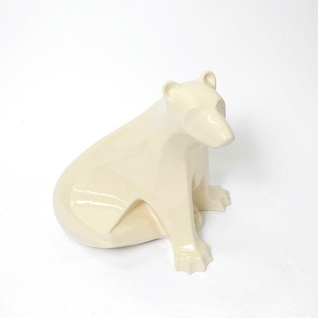 Francois Pompon Style Ceramic Polar Bear - Image 2 of 5