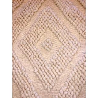 Bohemian Diamond Pattern Wool Rug - 1′10″ × 3′2″ Preview