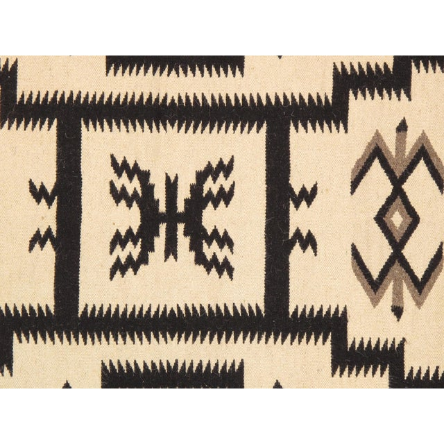 "Navajo Decorative Hand-Woven Rug - 3'11"" X 6'1"" - Image 2 of 3"