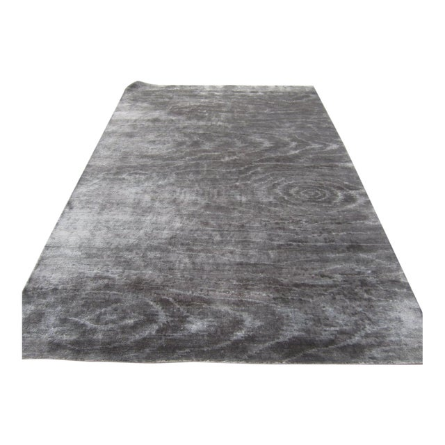 Silver Wood Grain Rug - 5′11″ × 8′8″ - Image 1 of 3