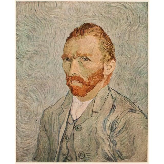 "1950s Vincent Van Gogh ""Self-Portrait"", Post-Impressionist First Edition Lithograph For Sale"