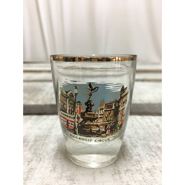 Mid-Century London Shot Glasses - Set of 4 - Image 3 of 8