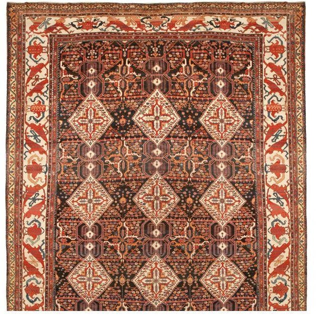 Antique Kurdish Carpet - Image 1 of 1