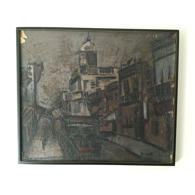 1960s Uruguayan Oil Painting - Image 2 of 3