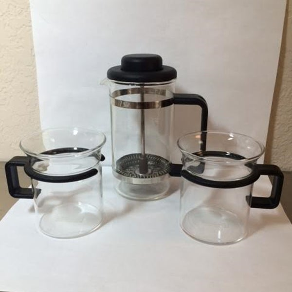 Vintage Bodum Mini French Press Set - Image 2 of 6