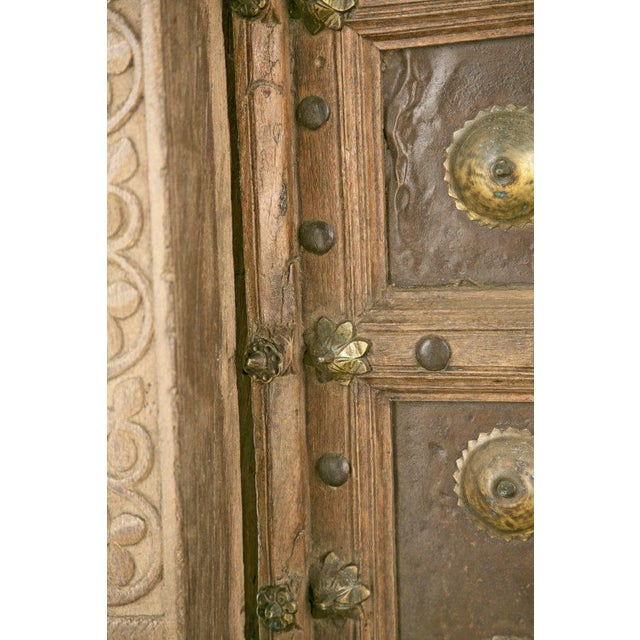 African Antique African Doors - A Pair For Sale - Image 3 of 12
