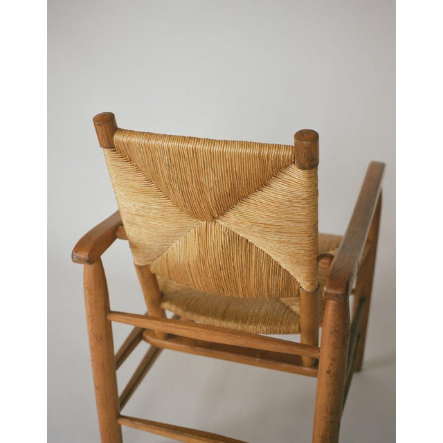 1940s Charlotte Perriand No. 21 Chair For Sale - Image 5 of 6