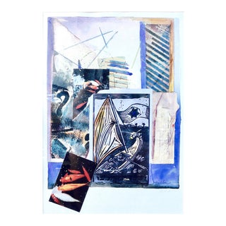 Abstract Collage, History of the Sea For Sale