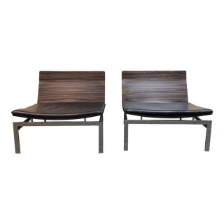 Contemporary B&b Italia Words Easy Chairs - a Pair