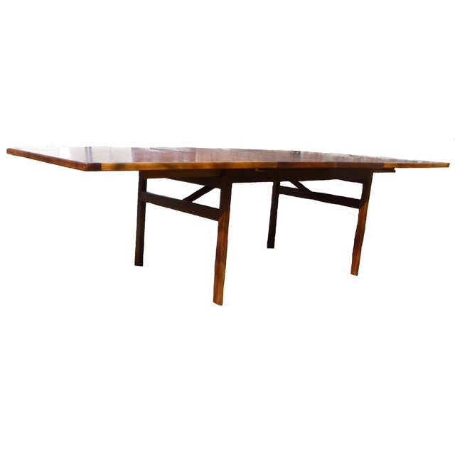 Jens Risom Dining Table With Two Leaves - Image 4 of 7