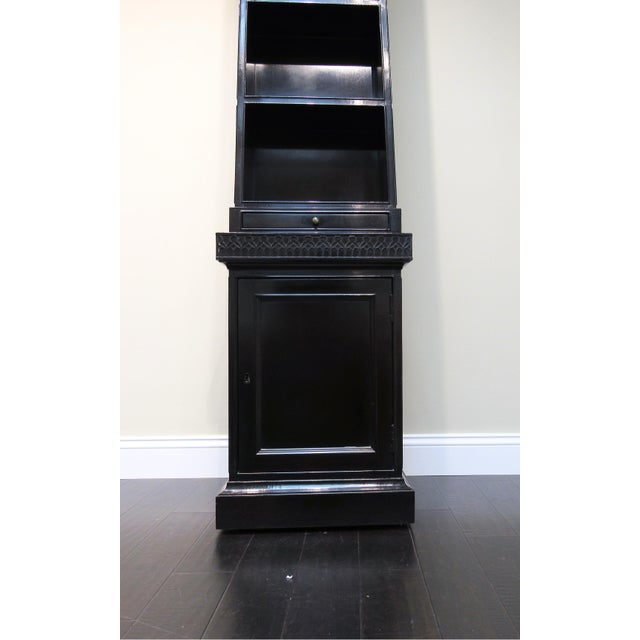 Chippendale Pyramid Bookcase by Baker For Sale - Image 3 of 6