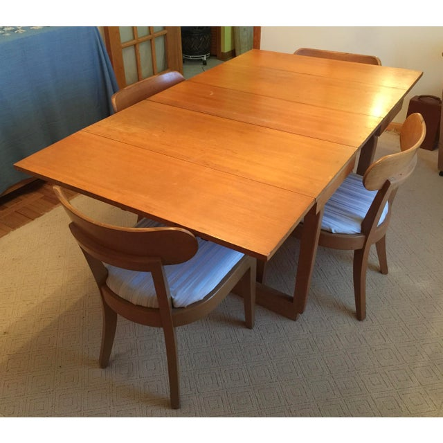 Edward Wormley Dining Table & Drexel Precedent Chairs | Chairish