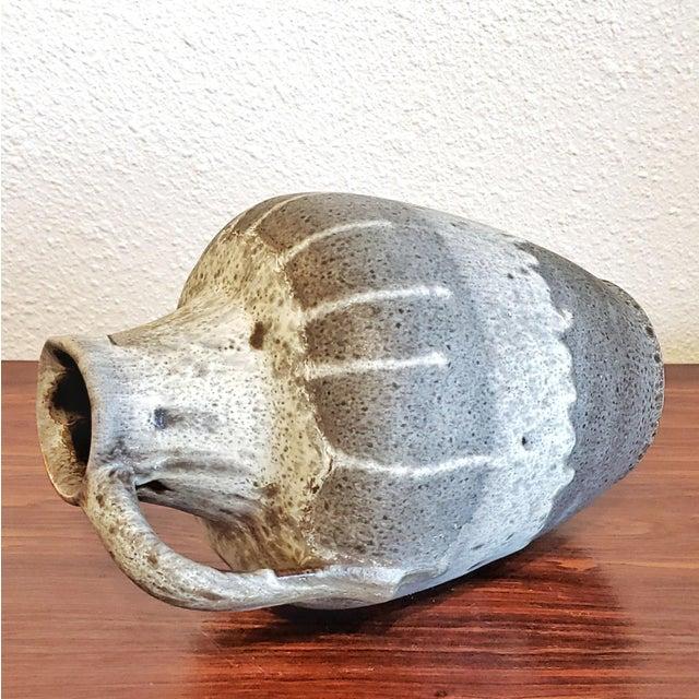 Gray E S Keramik Lava Glaze Jug Vase For Sale In Austin - Image 6 of 10