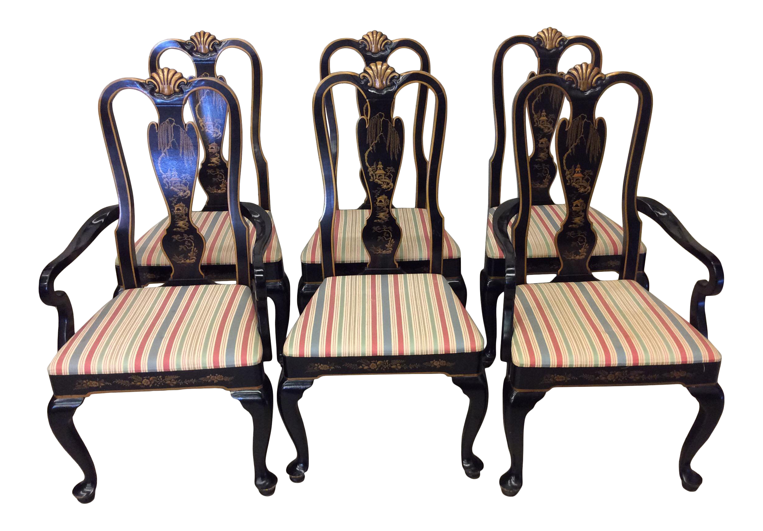 Asian style dining chairs