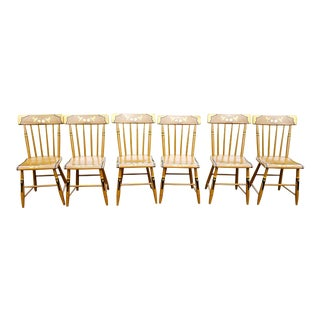 19th Century Country Windsor Chairs - Set of 6 For Sale