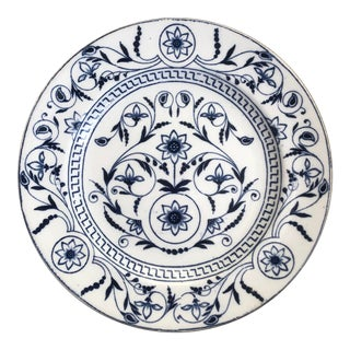 "T G & F B ""Dresden"" Blue and White Plate For Sale"